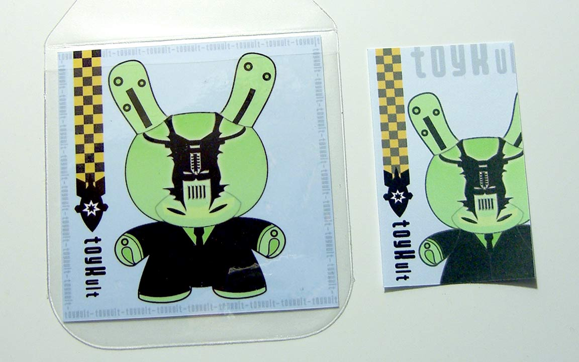 Toykult  - Skinjob EP - featuring Booker T & the MG's - Distroboto mini CD - 2007